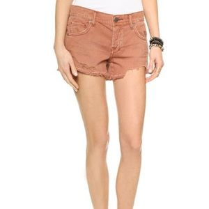 Free People Shark Bite Denim Shorts